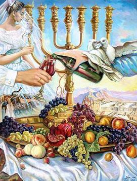 לקנות Judaica Art Prints Kiddush