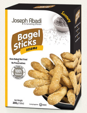 לקנות Bagel Sticks Sesame