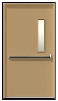 לקנות דלתות חסינות אש דלת אש ידית בהלה