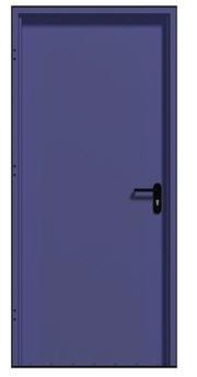 לקנות דלתות למבני ציבור דלת מחסן מאווררת