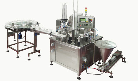 Hermes SLB Automatic Rotating Feed Fill & Seal Machine - with or without MAP