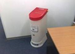 לקנות מכלי מיחזורית נייר משרדי למחזור