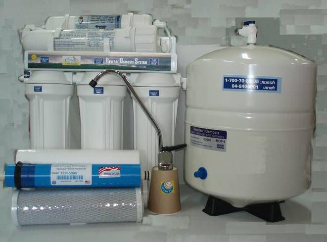 לקנות מערכת טיהור וסינון מים אוסמוזה צבר 5