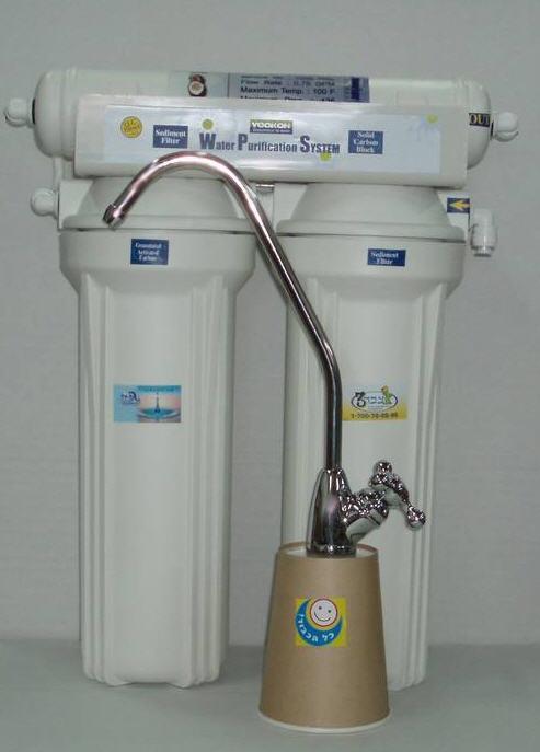 לקנות מערכת טיהור וסינון מים צבר 3