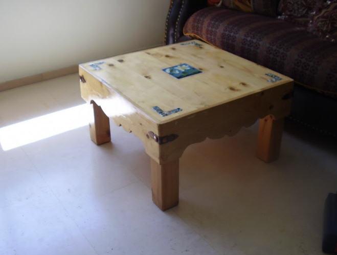 לקנות שולחן ויקטוריני עץ אלון גושני