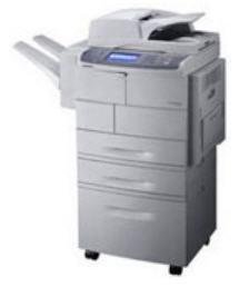 לקנות מדפסת סמסונג לייזר משולבת שחור לבן 6545 | SAMSUNG SCX 6545N