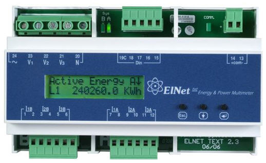 לקנות ELNet-Txt power Multimeter