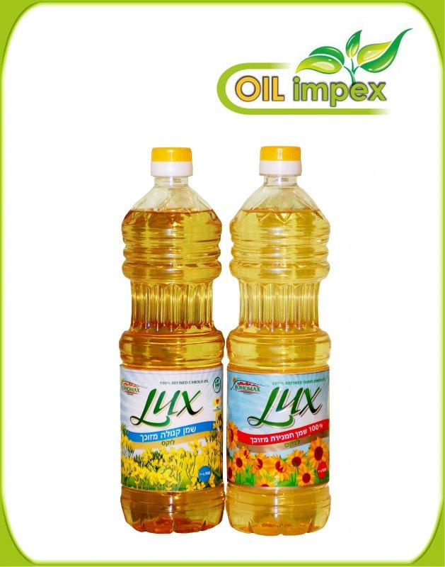 לקנות שמן חמניות Lux