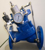 "Ray – ""Y"" pattern, double chamber diaphragm control valve"
