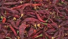 Dried paprika