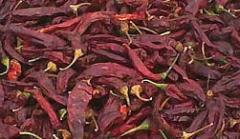 Dried paprika