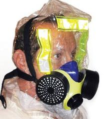 Gas insulating masks