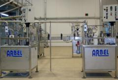 מכונות אריזה למילוי של נוזלים וסמיכים