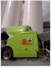 Gaseous nitrogen