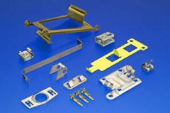 Materials:  Steels, stainless steel, aluminum, cooper, gold, silver