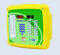 Control panels for ventilation systems