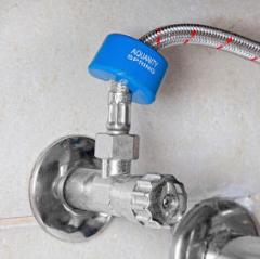 Under Sink Aqualizer 3/8″  Improve the taste of your drinking water, cooking water and reduce scale.