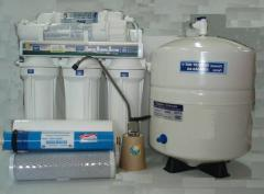 Installations of potable water clearing