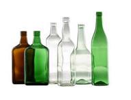 Wine, beer, spices bottles