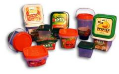 Containers for salads