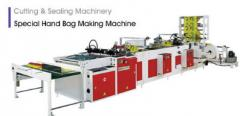 Fully Automatic Loop Handle, Die Cut Handle & Draw Tape &  Pathch Handle Bags Making Machine