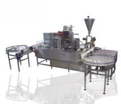 מכונה אוטומטית למילוי הלחמה ופיקוק צנצנות  J Streamer