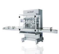 מכונה אוטומטית למילוי ופיקוק בקבוקי רוטב  trojan linear bottles