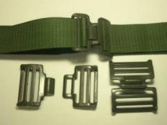 Metallic buckles