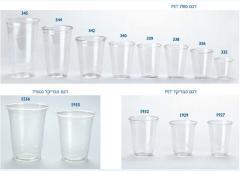 כוסות שקופות