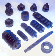 Axle and gear rubber boot insulation