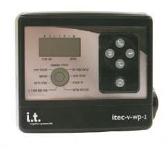 Itec-V 2,4,6 station waterproof controller