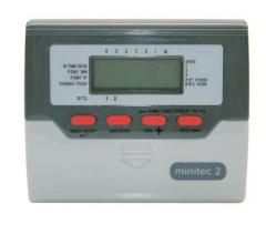 Minitec 2,4,6,8 station dual program controller.