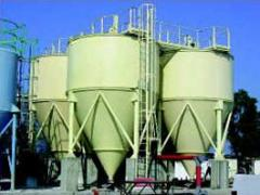 Container type stationary concrete batching plants