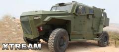 All-terrain 4x4 armored vehicle