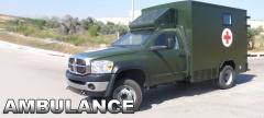 Ambulance Vehicle Versatile 4X4 armored ambulance