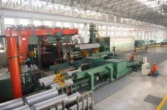 Aluminum extrusion: profiles, pipe, tubes, bars, roads, sections - Our 9000MN Press