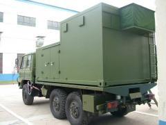 Radar control shelter