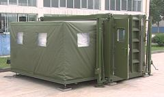 Soft-wall expandable shelter