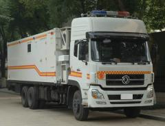 Emergency Disposal Vehicle for high-risk Chemicals