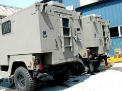 Lightweight HMMWV Enclosure