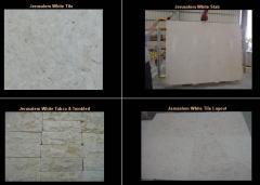 Jerusalem white stones