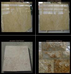 Jerusalem Stone Gold