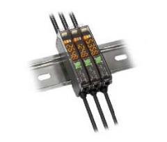 Photoelectric Sensors 45FPL Visible Red Small Aperture Teachable Fiber Optic
