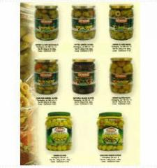 Kosher Olives & Pickles products by Motola