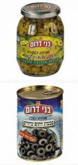 Kosher Olives & Pickles products by Bnei Darom