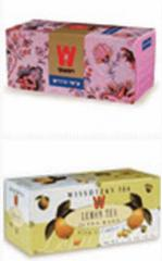 Kosher Tea products by Wissotzky