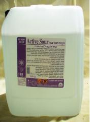 Active Sour תכשיר בעל כושר החמצה גבוה. מונע התפתחות גירויים בעור