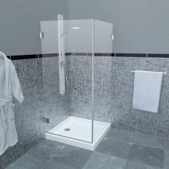 מקלחון פינתי CAMELLIA 126