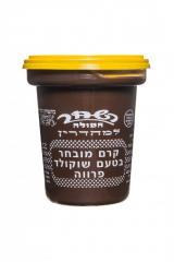 קרם מובחר בטעם שוקולד פרווה- 400 גרם