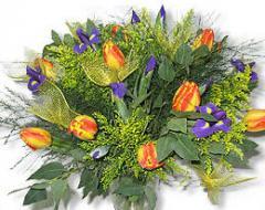 זרי פרחים מלאכותיים